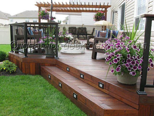 Terrific Ideas for Decks   Backyard deck ideas on a budget ...