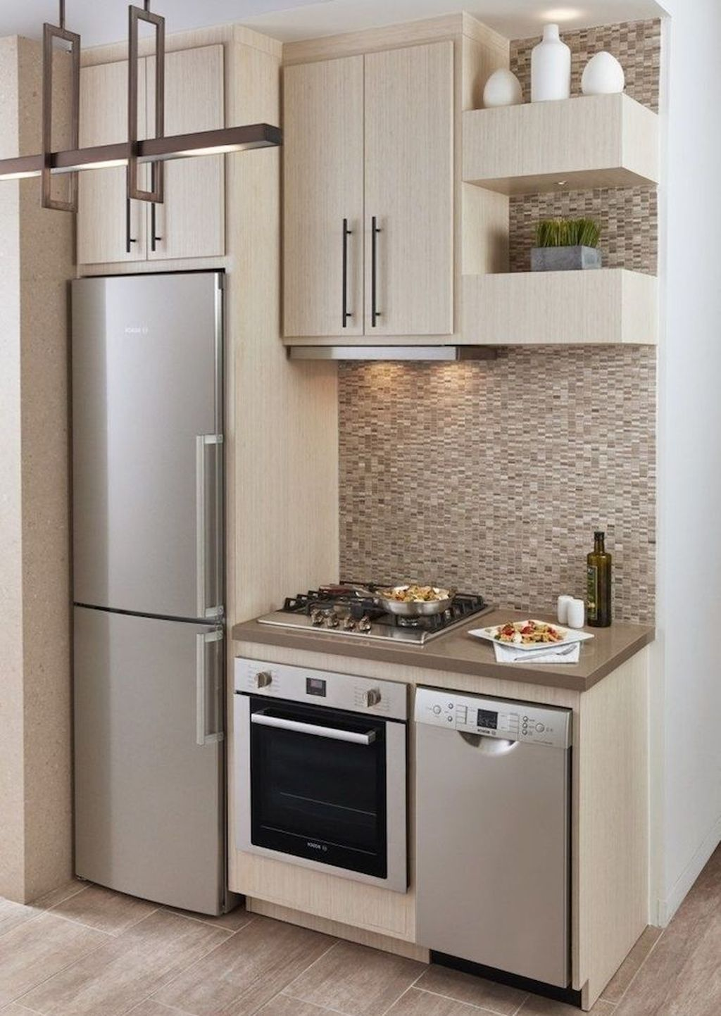 Nice 49 Creative Small Kitchen Design Ideas For Your