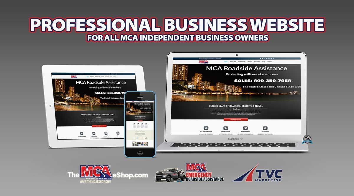 Mca Professional Business Website Mcashop Themcaeshop Business Website Independent Business Owner Mca