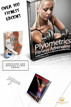 We have over 100 eBooks on Fitness and Health. #eBooks #ebook #fitness #workout #training #abs #absw...