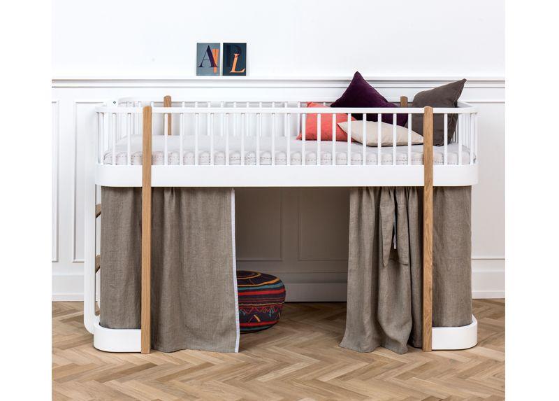 Oliver Furniture Wood Low Loft Bed Buy Online Mood Oliver
