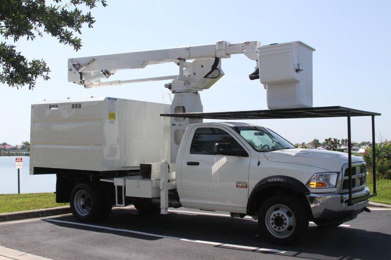 2012 Dodge Ram 550 Bucket Truck Bucket Trucks For Sale Recreational Vehicles