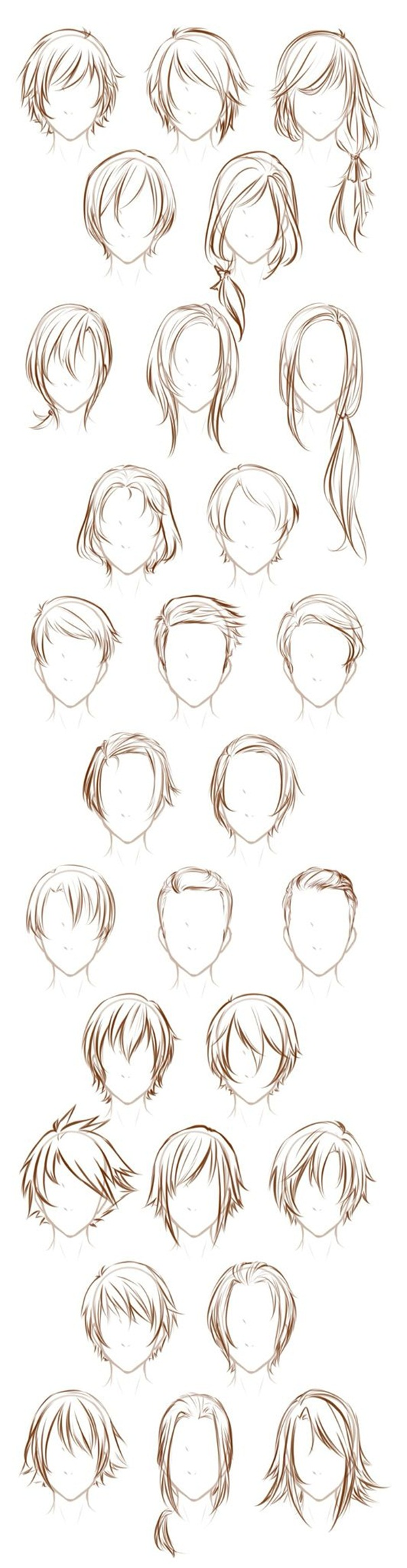 Photo of How To Draw Hair (Step By Step Image Guides)
