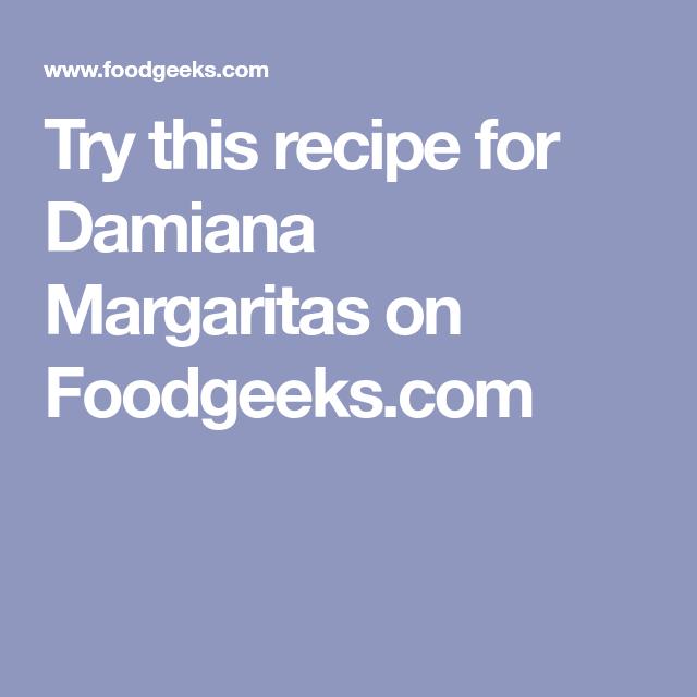 Margarita, Food Recipes