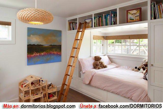 Decorar habitaciones peque as de ni os cositas de - Habitaciones pequenas ninos ...