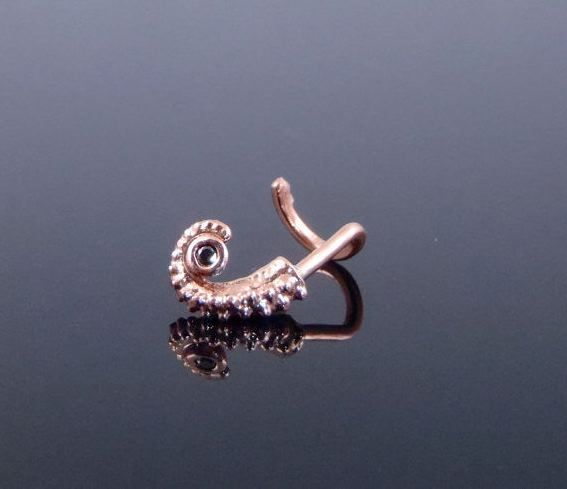 Octopus Nose Stud Body Jewelry Nose Jewelry Nose Ring