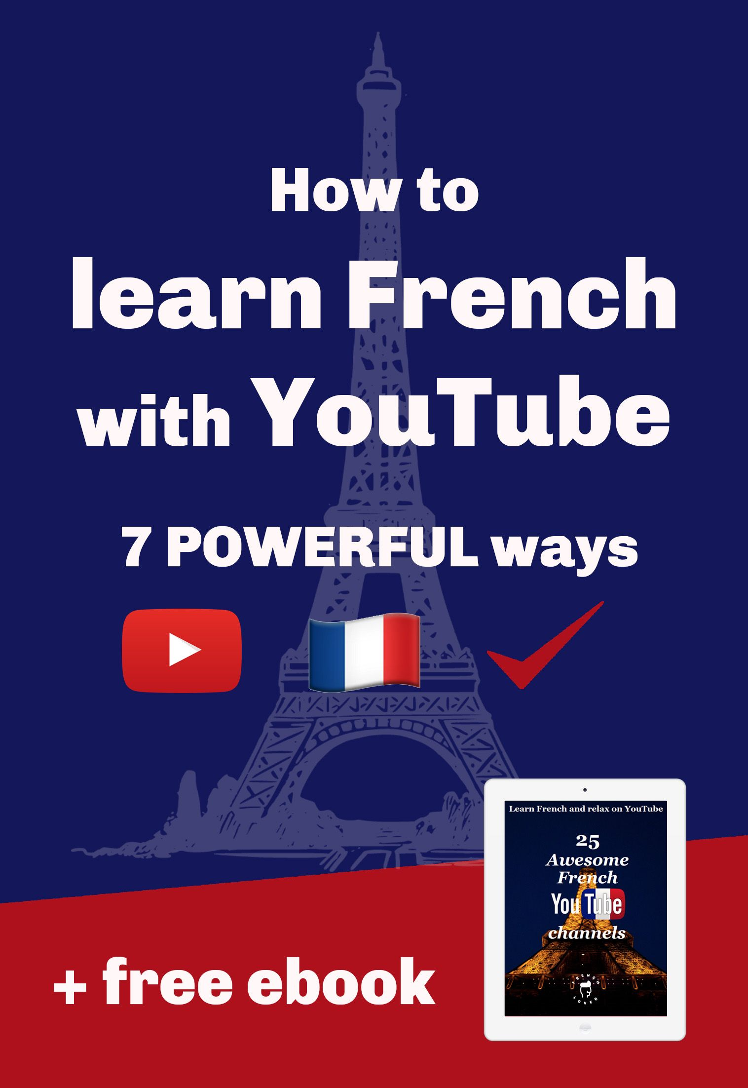 How To Learn French With Youtube