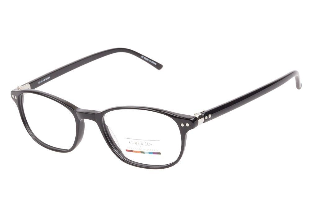 Colours by Alexander Julian Gulix Black eyeglasses are sleek and ...