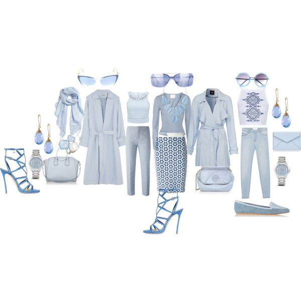 Maybe Blue Maybe U by blujay1126 on Polyvore featuring Banjo & Matilda, Forever New, Topshop, Temperley London, Alexander McQueen, Chloé, MANGO, Dsquared2, Charles Philip Shanghai and Givenchy
