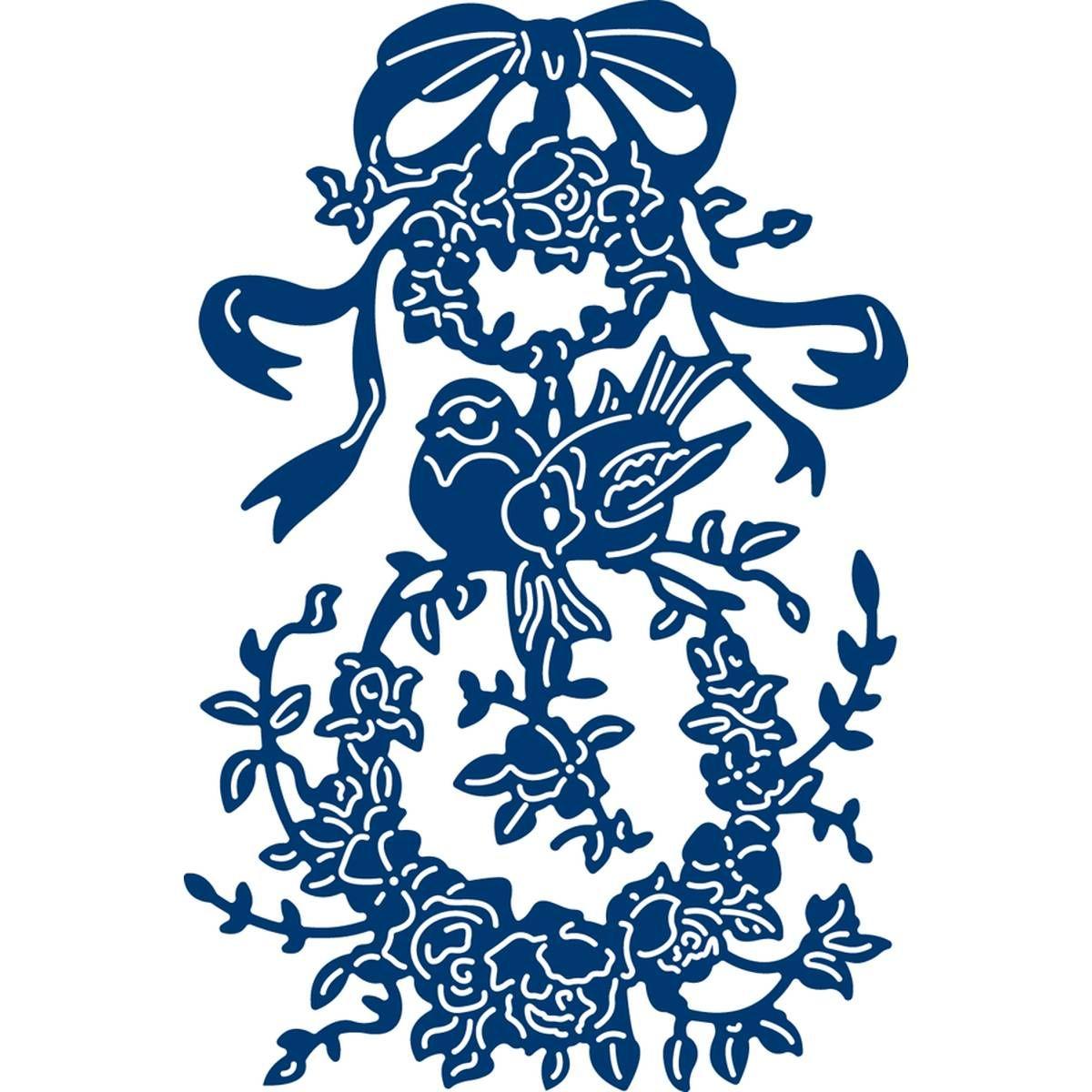 Tattered lace die /'Delicate mermaid/' cutting die NEW sizzix big shot xcut
