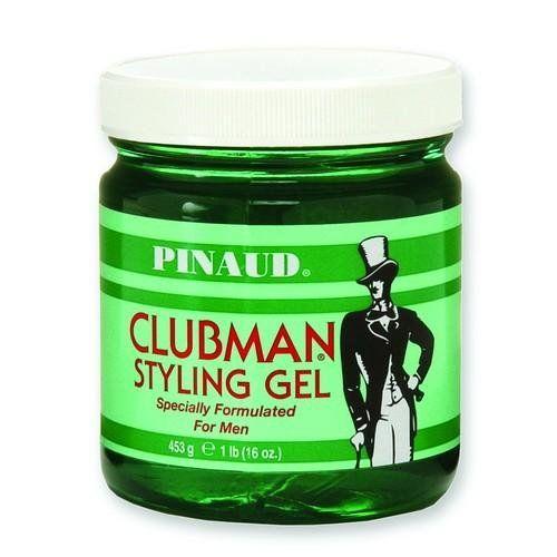 Robot Check Styling Gel Hair Gel Clubman Pinaud