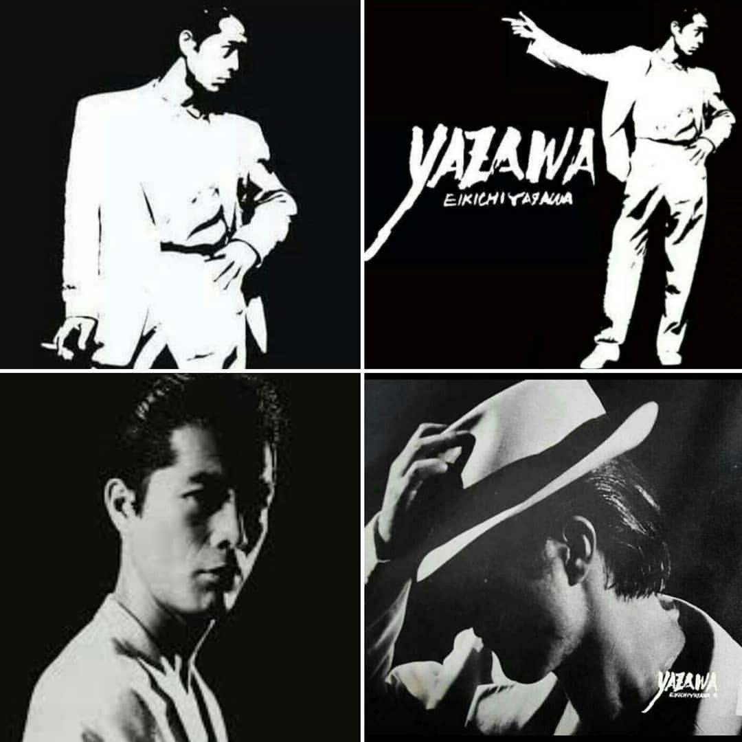 E Yazawa モノクロ 画像 懐メロ 矢沢 永吉