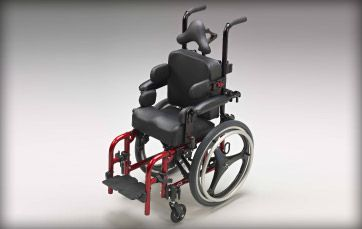 Ki Mobility Spark - Spark is designed to be used with virtually any clinically prescribed seating system.  http://www.kimobility.com/Product.action?productName=Spark