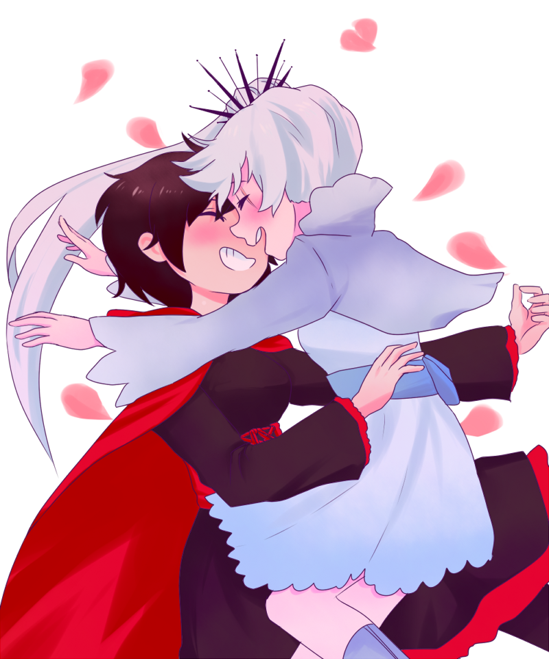 ruby and weiss rwby
