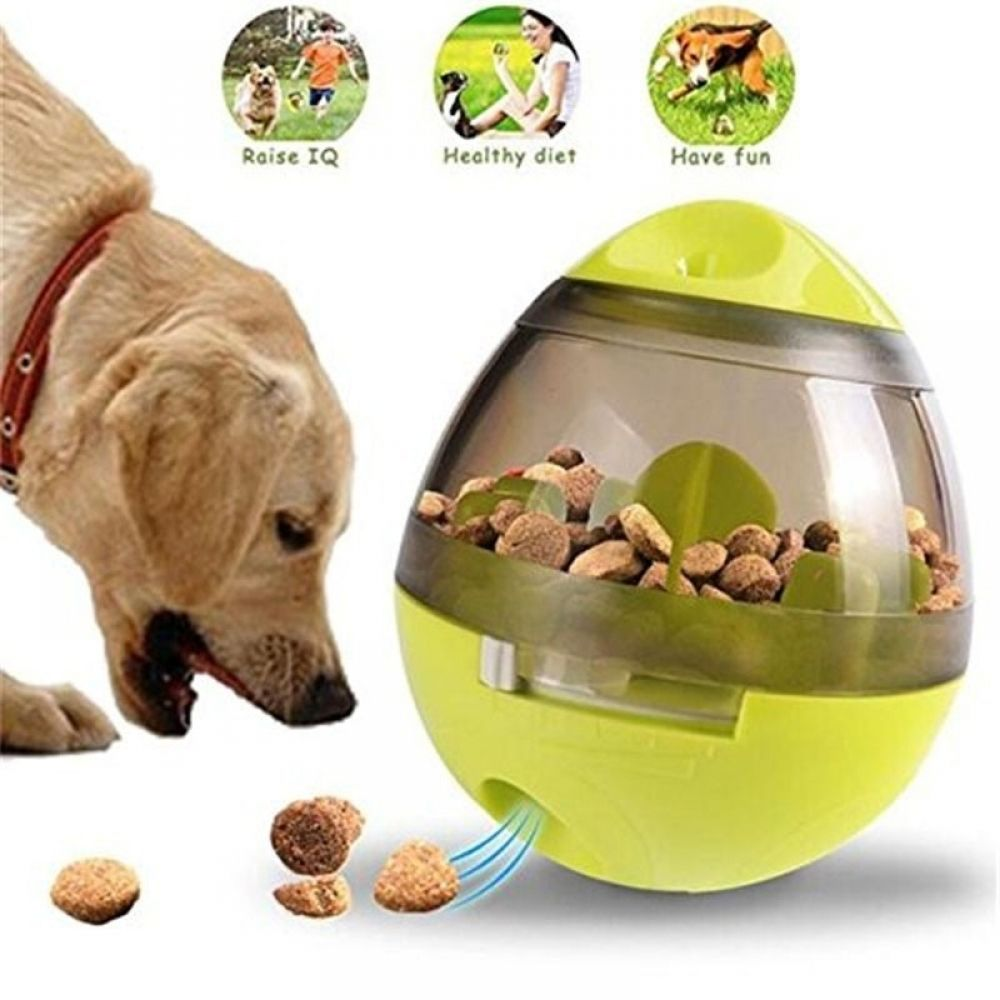 Interactive Dog Toys Interactive Cat Toy IQ Treat Ball Smarter Pet Toys Food Ball Food Dispenser For Cats Playing Training Balls Pet Supplies - Petnr