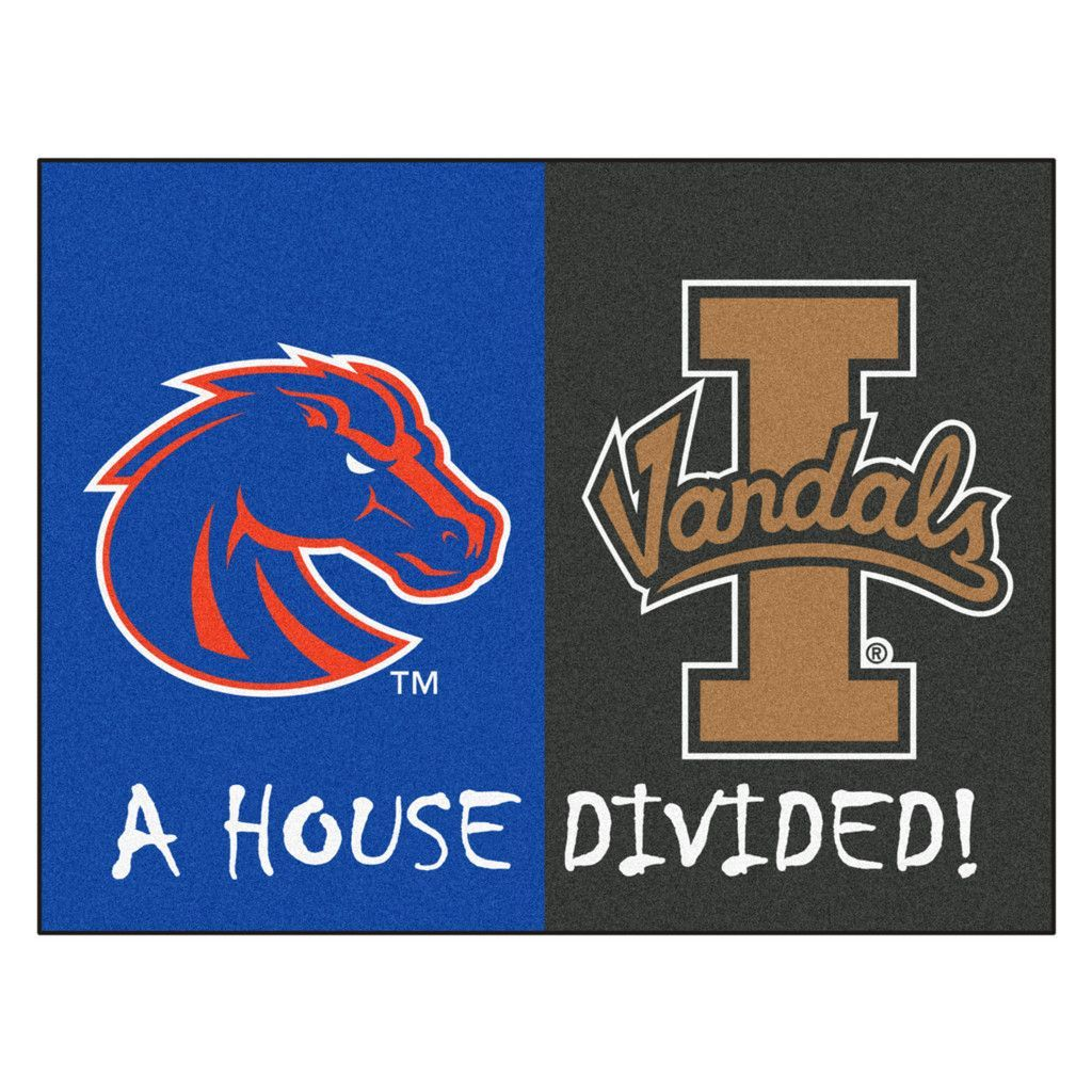 Idaho Vandals vs Boise State Broncos Rivalry Rug