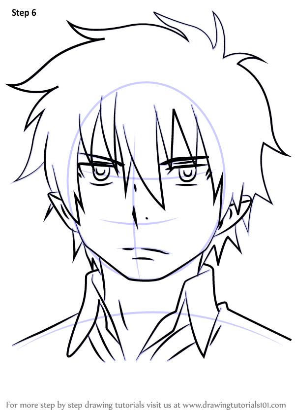 How To Draw Rin Okumura From Ao No Exorcist Drawingtutorials101 Com Rin Okumura Blue Exorcist Rin Blue Exorcist Anime