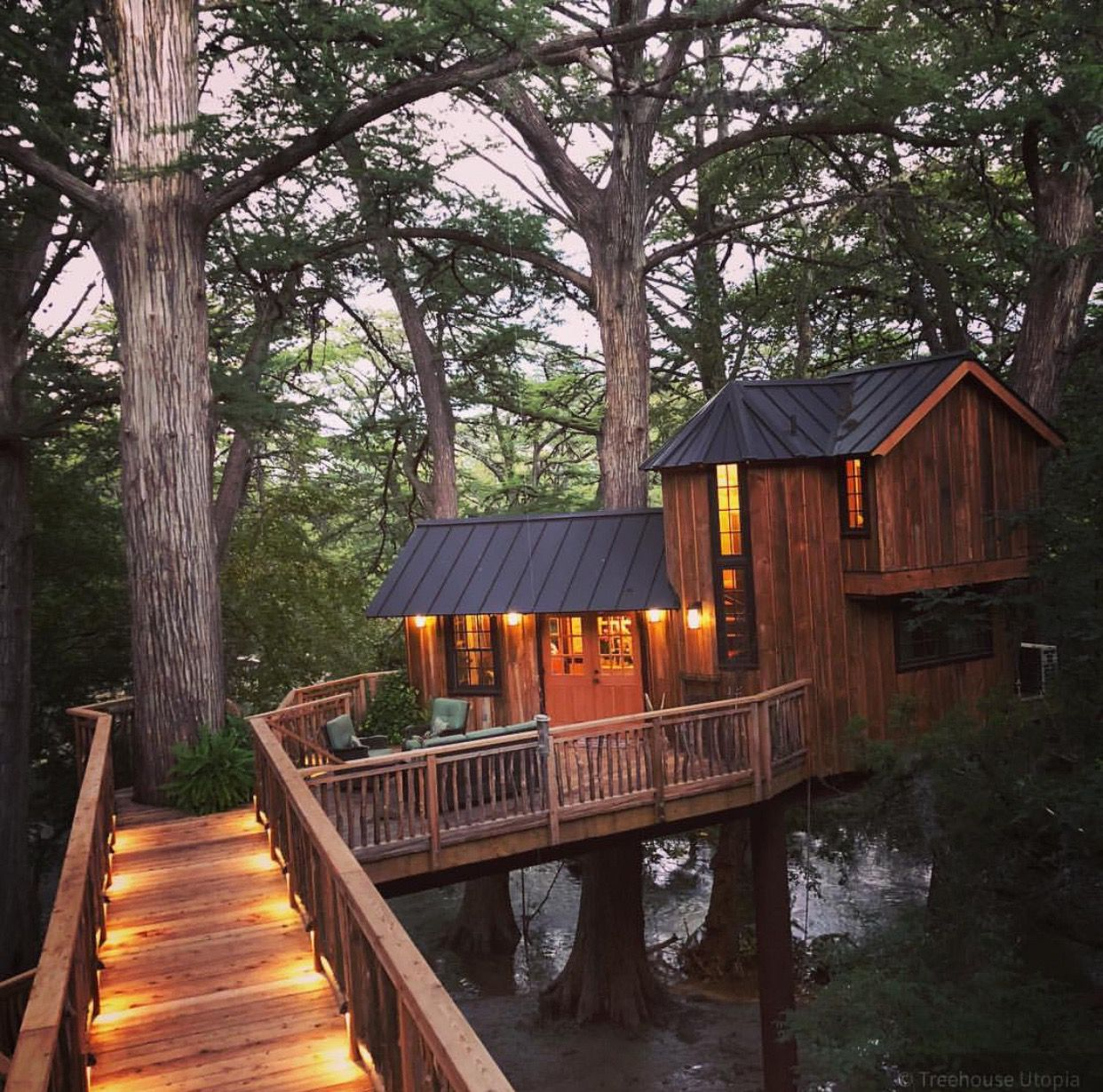 Love This Tree House Pete Nelson Built For Tree House Utopia