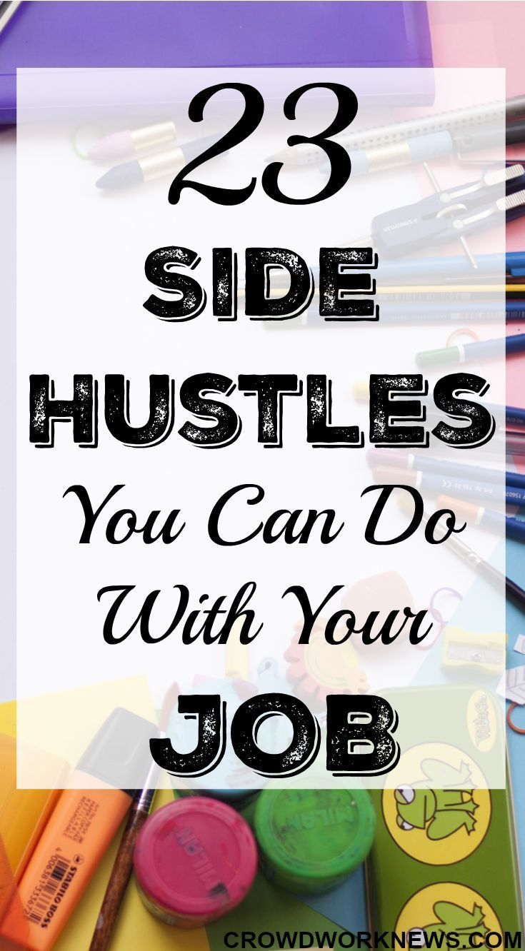 23 Side Hustles You Can Do Along With Your Job | Hustle, Saving ...