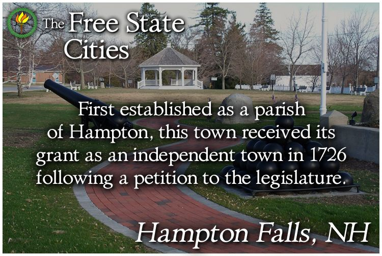Learn more about the history of Hampton Falls, New Hampshire at our site! http://freestatenh.org/encyclopedia/cities/hampton_falls