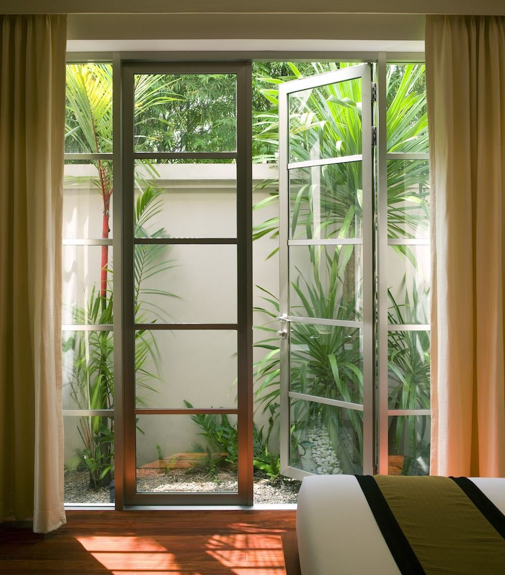 Image Result For Stained Glass Across Top Sliding Glass Door Window Installation Cost Window Prices Brick Wall Gardens