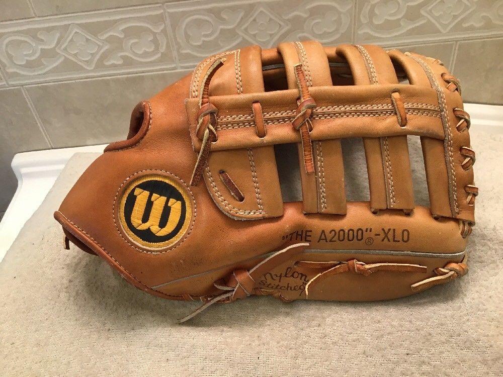 Wilson A2000 Xlo 13a Pro Back Baseball Softball Pitchers Glove Right Hand Throw Softball Pitcher Pitchers Glove Baseball Glove