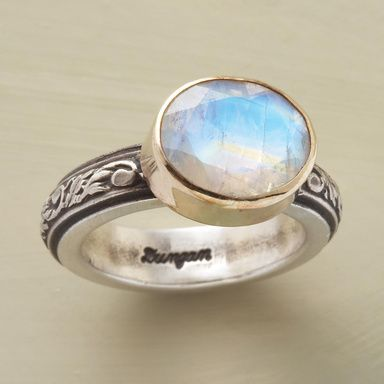 Engagement Ring That Is Just As Beautiful As Any Diamond Single Stone Ring Moonstone Ring Jewelry