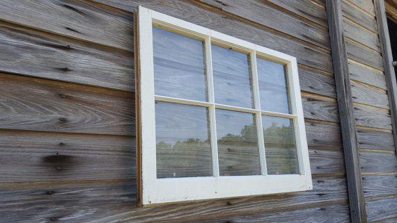 32x23 6 Pane Vintage Antique Window Sash In 2020 Antique Windows Windows Sash Windows