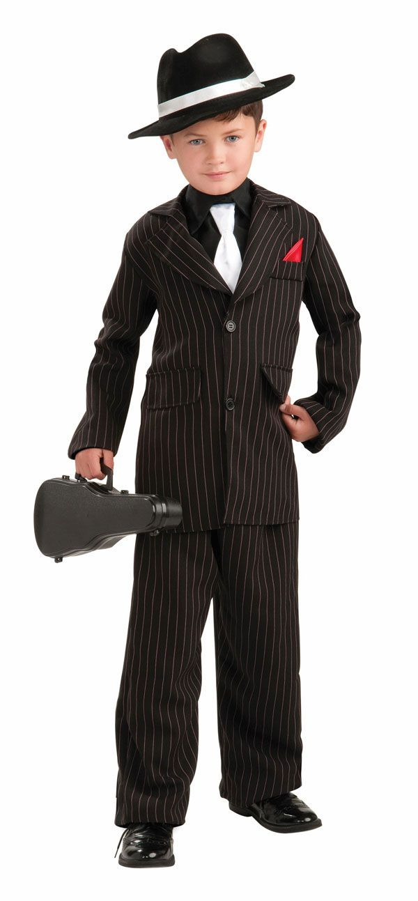 314eefa98cef Kids 1920 s Gangster Costume - Gangster Costumes