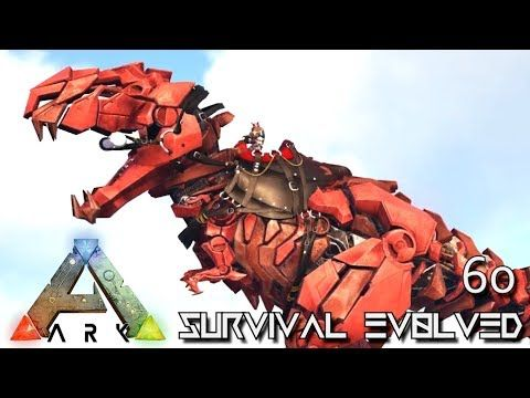 nice ARK SURVIVAL EVOLVED - ALPHA TEK TREX \ NEW TEK DINOS - new blueprint ark survival