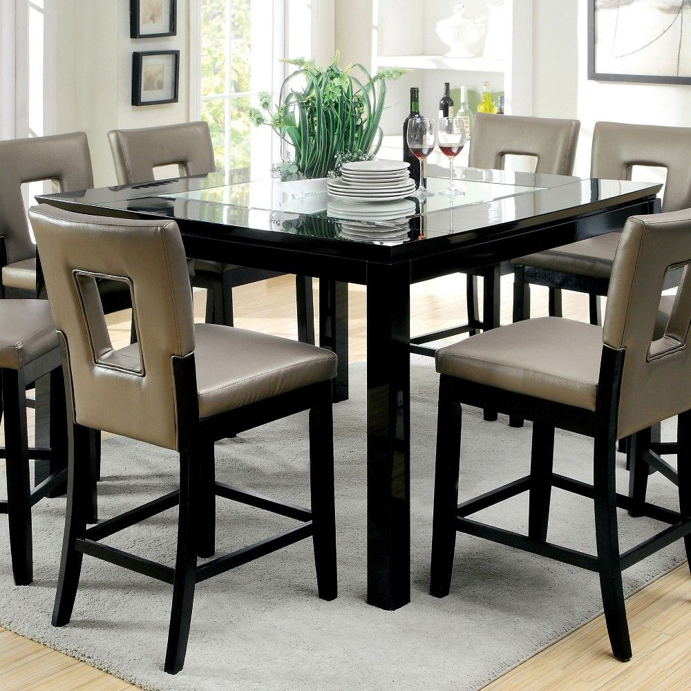 Pin By Glenda Wilkins On Counter Stools Counter Height Table Dining Table High Top Table Kitchen