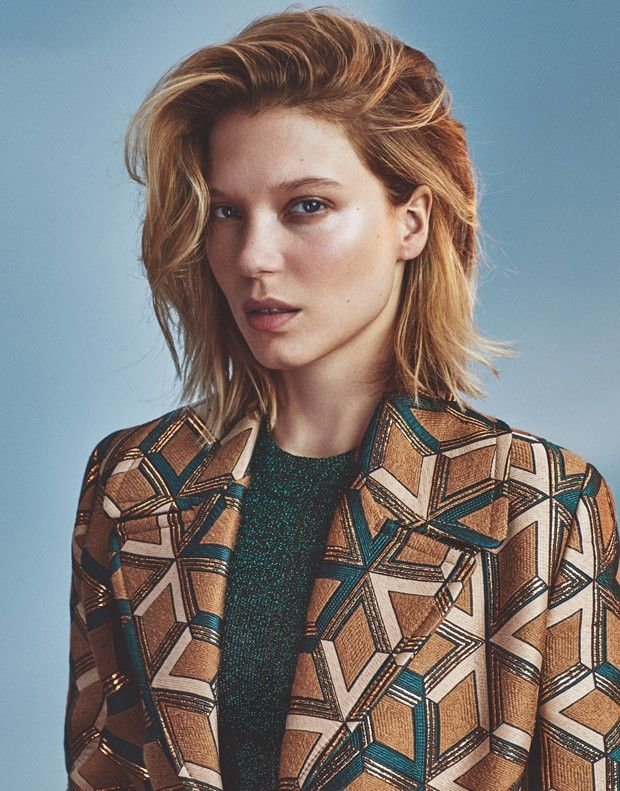 Lea Seydoux for The Edit by Emma Tempest
