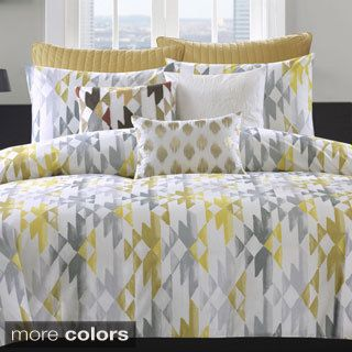 Ink+Ivy Sierra Cotton 3-piece Duvet Cover Set