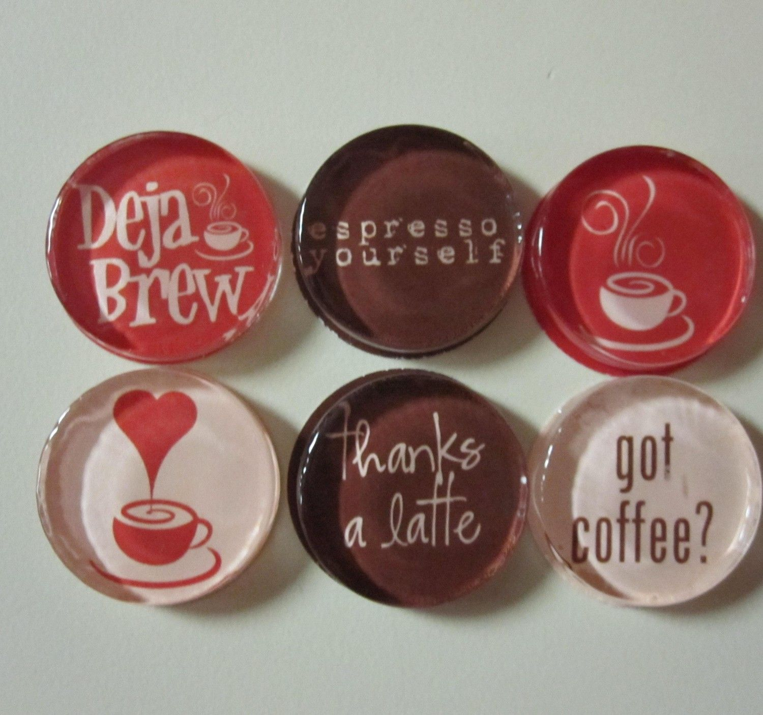 coffee themed to go on my refrigerator in my