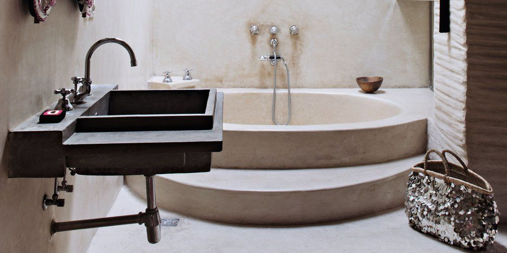 Pourquoi Succomber Au Tadelakt L Enduit Marocain Qui Sublime La Salle De Bains Douches Huis