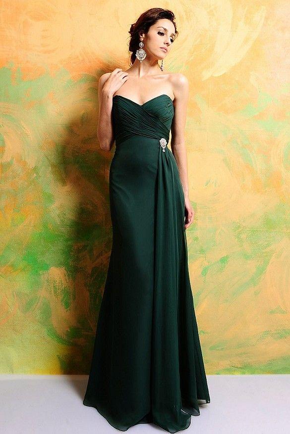Emerald Green Bridesmaid Dresses Robin
