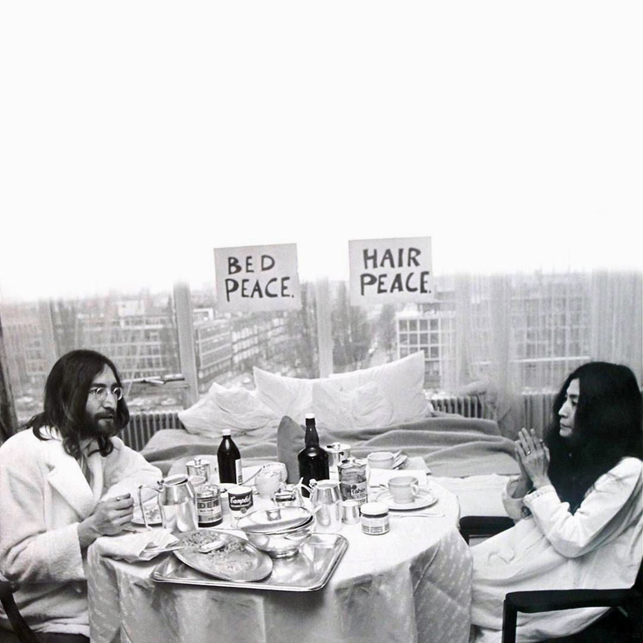 "We're only trying to get us some breakfast"".. 