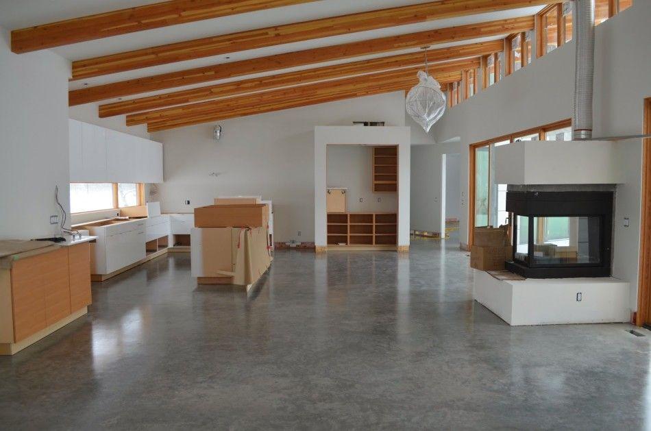 Ideas Affordable Grey Modern Concrete Floor Paint