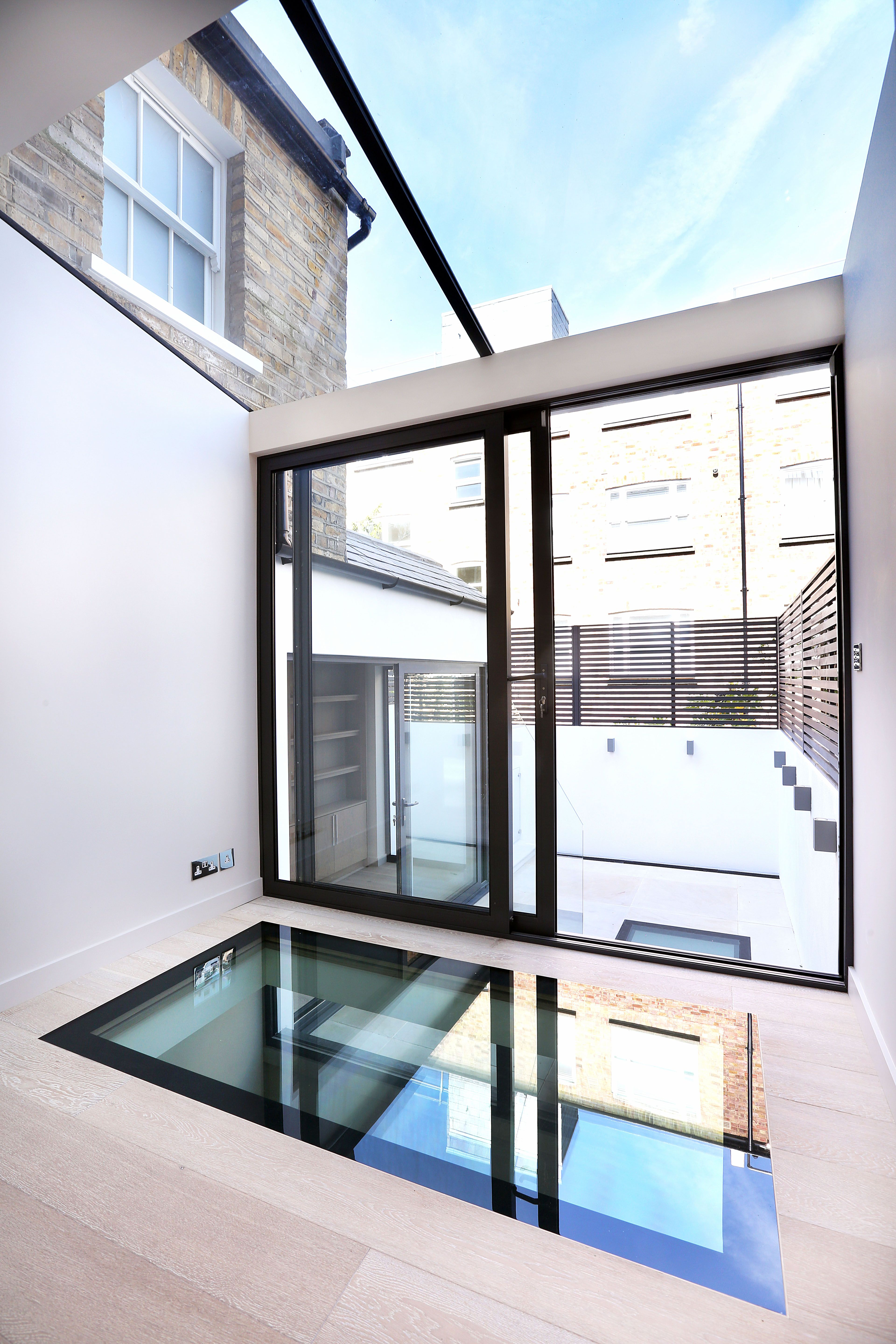 basement pool glass.  Basement Lightwell To First Floor Of Double Depth Basement Perfect For Modern High  Rise Or Updated Valley Home Throughout Basement Pool Glass O