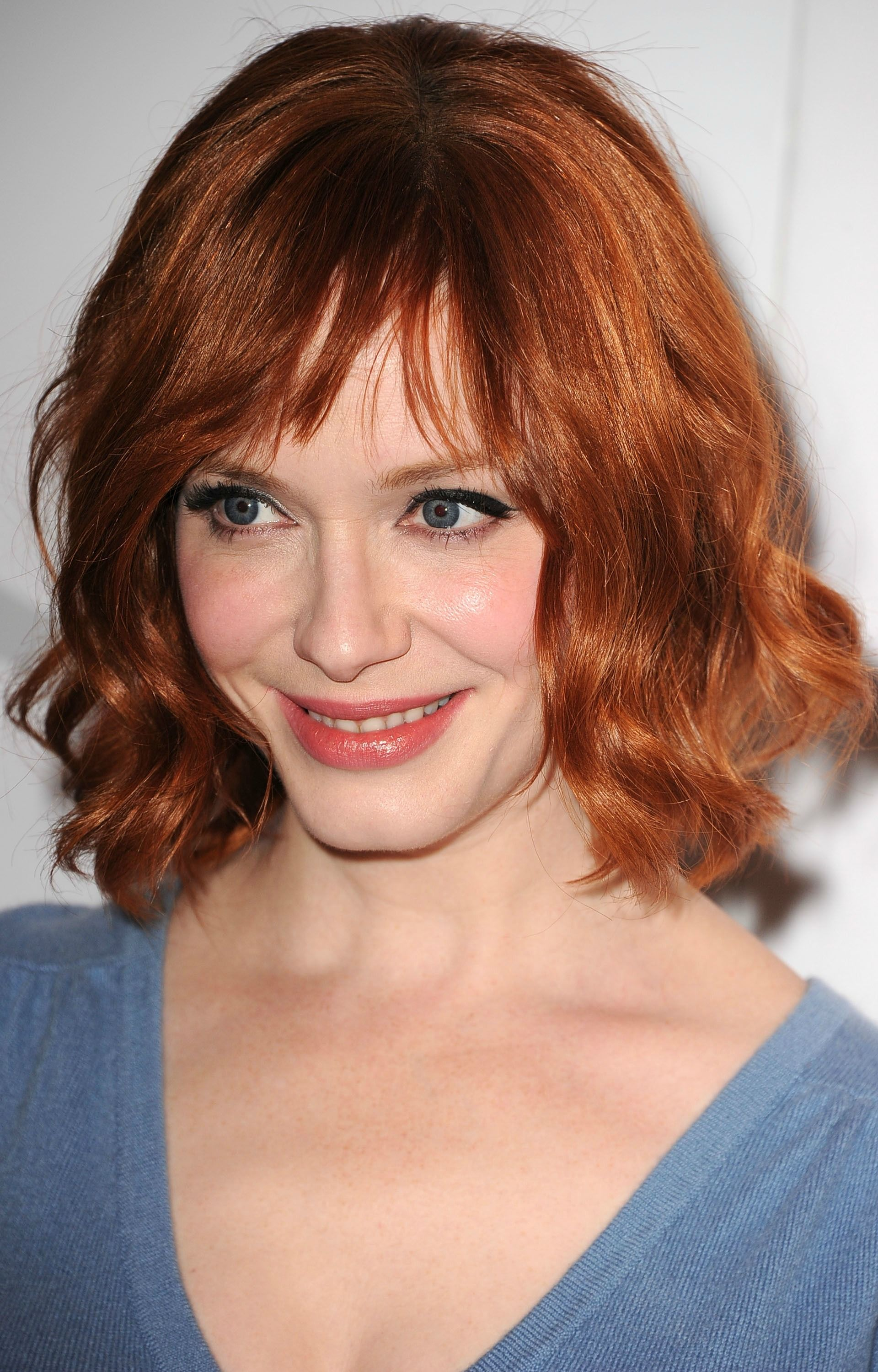 New style haircuts for men  celebrities with beautiful long bobs  joan holloway beachy