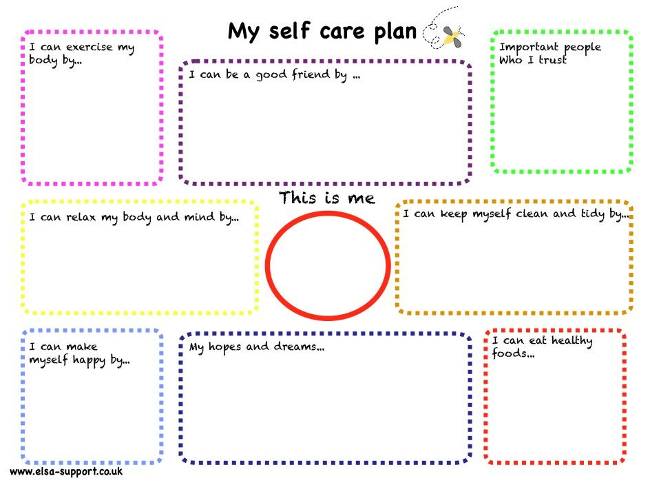 Pin by y rodriguez on counseling self care worksheets