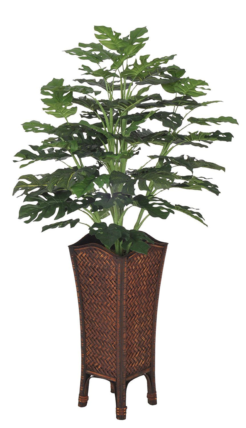 House of silk flowers artificial split philo in rattan planter to house of silk flowers artificial split philo in rattan planter to view further visit now this is an amazon affiliate link i may earn commissi mightylinksfo