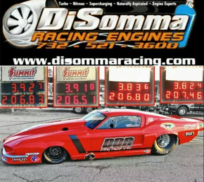 Anthony Disomma S Shelby Ddr Ford Mustang By Jerry Bickel Race