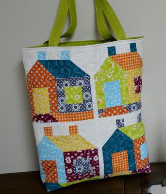 Happy Quilting: Cozy Cottage Tote