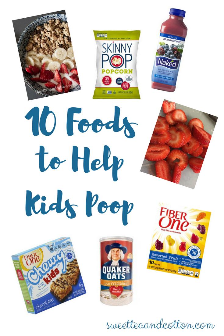 Kids Poop Constipation Relief High Fiber Foods For My Baby