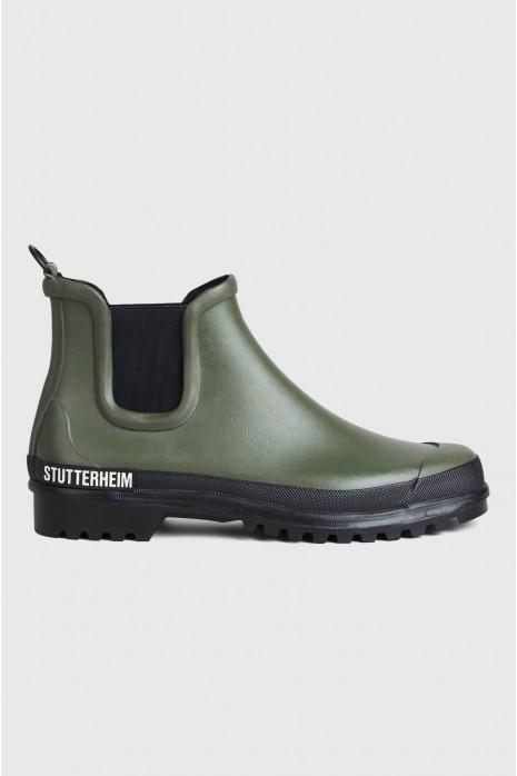 Mens waterproof boots, White rain boots