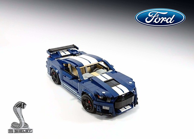 Ford Mustang Shelby Gt500 10265 Model B Moc Ford Mustang Shelby