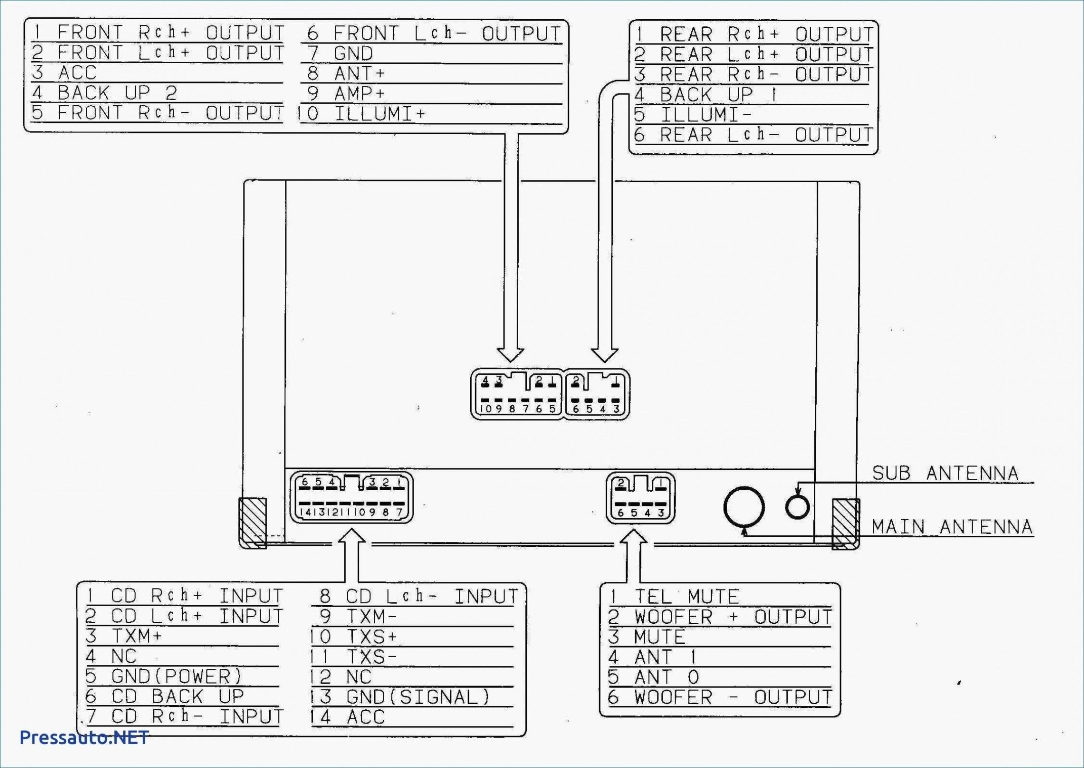 Pioneer Avh P2300dvd Wiring Diagram New In 2020 Car Stereo Sony Car Stereo Car Amplifier