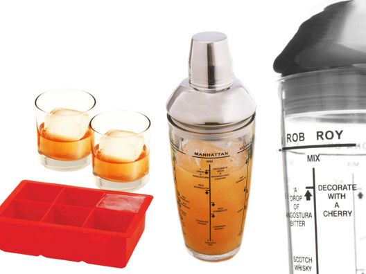 Party Glass Shaker and/or Colossal Ice Cube Tray from Zane Lamprey on OpenSky