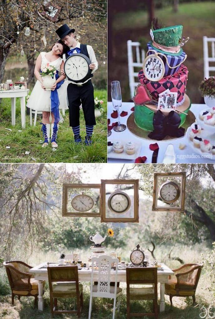 alice in wonderland wedding | Alice in Wonderland wedding decoration ...